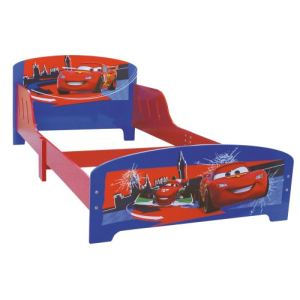 Fun House Lit grand modèle Cars Disney en bois (90 x 190 cm)