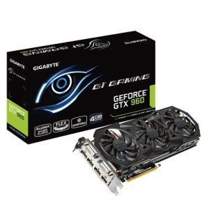GigaByte GV-N960G1 GAMING-4GD - Carte graphique GeForce GTX 960 G1 Gaming 4Go DDR5 PCI-E 3.0