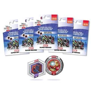 Disney Interactive Studios Disney Infinity 2.0 : Marvel Super Heroes - 5 Packs de 2 Power Disc