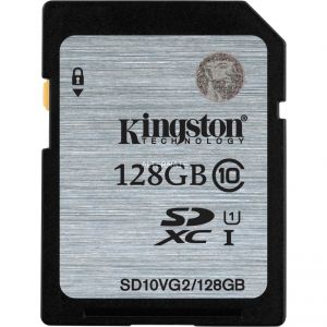Kingston SD10VG2/128GB - Carte mémoire SDXC UHS-I 128 Go classe 10