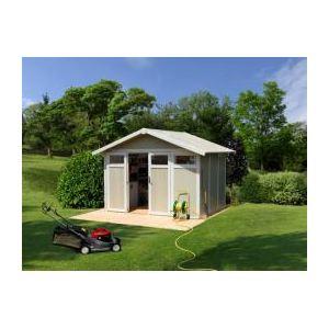 Grosfillex Utility 7,5 - Abri de jardin en PVC 7,04 m2