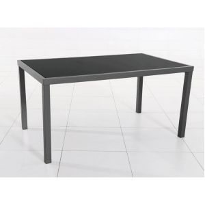 Hesperide Piazza 4-6 places - Table de jardin rectangulaire 150 x 90 x 75 cm