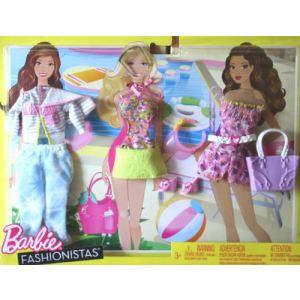 Mattel v tements pour poup e barbie tenues loisirs - Barbie sirene surfeuse ...