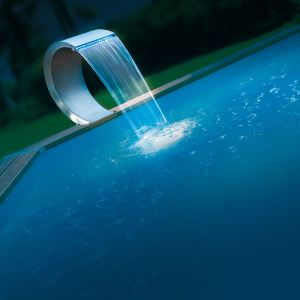 Ubbink 7504459 - Cascade à led pour piscine Mamba