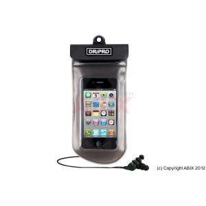 Infosec ACCINF00001B - Étui étanche pour iPhone et smartphones avec écouteurs