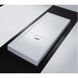 Novellini Olympic Plus - Receveur de douche rectangulaire (12.5 x 120 x 80 cm)