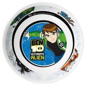 Assiette mélamine Ben Ten 19,5 cm