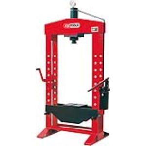KS Tools 160.0103 - Presse hydraulique 50t à pompe hydraulique 2 vitesses