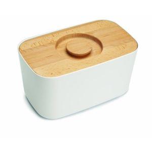 Joseph joseph Boîte à pain Bread Bin avec planche à découper