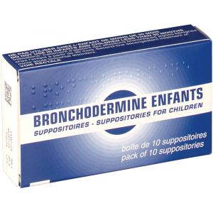 Serp Bronchodermine Enfants - 10 Suppositoires
