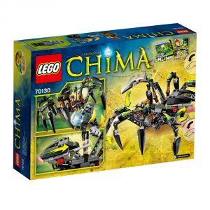 Lego 70130 - Legends of Chima : Le tank araignée de Sparratus