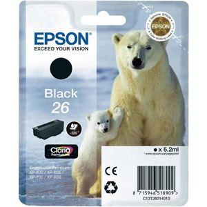 Epson T2601 - Cartouche d'encre n°26 noire