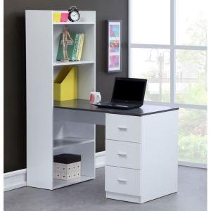 bureau study avec tag res int gr es 120 x 154 5 cm comparer les prix avec. Black Bedroom Furniture Sets. Home Design Ideas