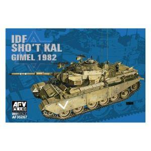 AFV Club AF35267 - Char IDF Sho't Kal Gimel avec Blazer explosive réctive amour - Maquette échelle 1:35