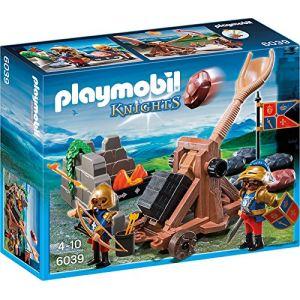 Playmobil 6039 Knights - Chevaliers du Lion Impérial avec catapulte