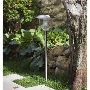 Inspire Balise à planter / Applique murale solaire Cordoba 6 Leds avec télécommande