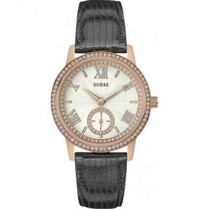 Guess W0642L3 - Montre pour femme avec bracelet en cuir