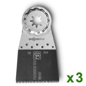 Fein 63502199220 - 3 Lames de scie Précision E-Cut 50x55 SLP