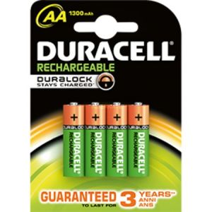 Duracell Rechargeable Accu AA 4 piles