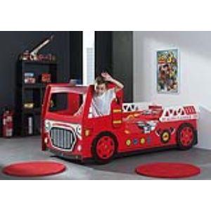 Someo Lit enfant Pompier Led Funky (90 x 200 cm)
