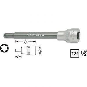"""Hazet 992SLG-T45 - Douille mâle Torx T45 4 pans intérieurs 12,5 mm 1/2"""""""
