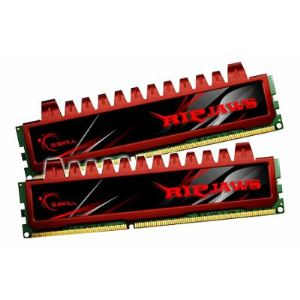 G.Skill F3-12800CL9D-4GBRL - Barrettes mémoire Ripjaws 2 x 2 Go DDR3 1600 MHz CL9 240 broches