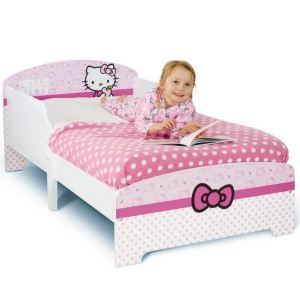 Worlds Apart Lit Hello Kitty pour fille (70 x 140 cm)