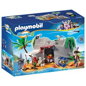 Playmobil 4797 Super4 - Caverne des pirates