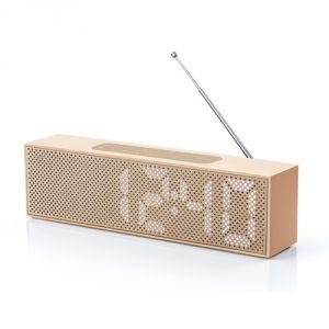 Lexon Titanium - Radio réveil