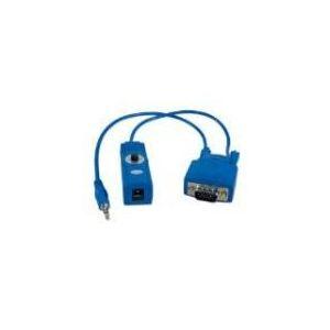 Lindy 32764 - Récepteur audio vidéo Cat.5/6 VGA et Audio 150 m.