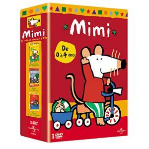 Coffret Mimi : Mimi aime les animaux + Mimi à la ferme + Mimi à toi de jouer