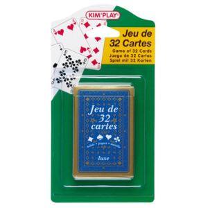 Kim'play Jeu de 32 cartes Luxe