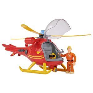 Smoby Océan Hélicoptère Sam Le Pompier