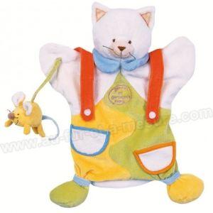 Doudou & cie Marionnette Chat Fripouille