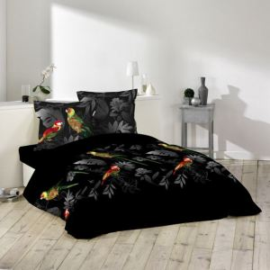 linge de maison perroquet comparer 34 offres. Black Bedroom Furniture Sets. Home Design Ideas