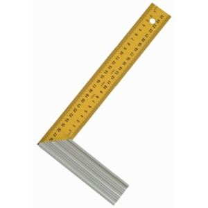Taliaplast 460933 - Équerre droite et d'onglet lame acier 400 mm