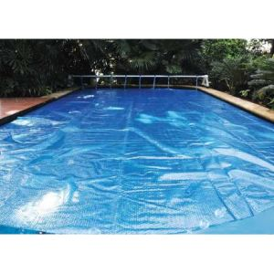 Intex K851BX - Bâche à bulles 5,40 x 2,60 m pour piscine tubulaire rectangulaire 5,49 x 2,74 m
