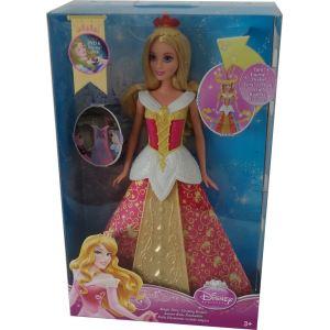 Mattel Poupée La belle au bois dormant et sa robe magique