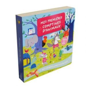Editions Auzou Mes premières comptines de Noël et d'animaux