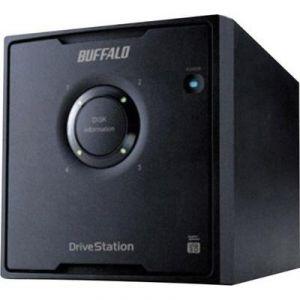 Buffalo HD-QH8TU3R5 - Serveur NAS DriveStation Quad 8 To USB 3.0