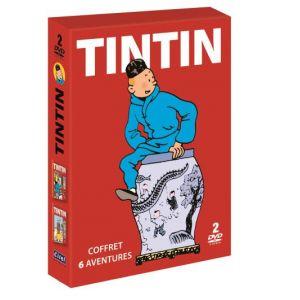 Image de Tintin - 6 aventures - Vol. 1 + Vol. 2