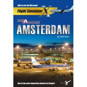 Mega Airport Amsterdam - Extension pour Flight Simulator X et 2004 sur PC