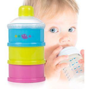 Boite de lait empilable