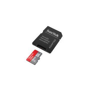 Sandisk SDSQUNC-032G-GN6IA - Carte mémoire Ultra microSDHC 32 Go 80MB/s Adapt.
