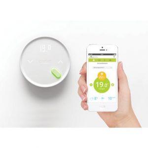 Qivivo Thermostat connecté sans fil 2 récepteurs FP