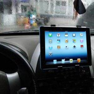 """Support 2 en 1 voiture pare-brise ou grille ventilation pour tablette 7 à 10.1"""""""