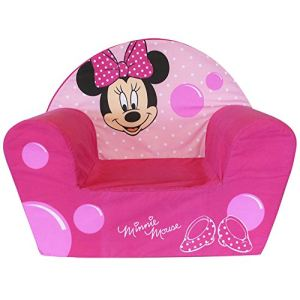 fun house 712173 fauteuil club minnie en velours. Black Bedroom Furniture Sets. Home Design Ideas