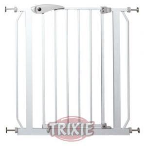 Trixie 39451 - Barrière de porte pour chien 75-85 × 76 cm