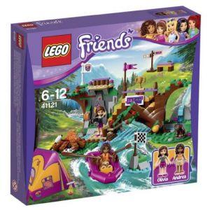 Lego 41121 - Friends : Rafting à la base d'aventure