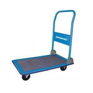 Silverline 675213 - Chariot plateforme pliant 100 kg